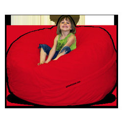Kids Bean Bag Chair - A huge beanbag? Yes, please! I can't imagine a playroom without a beanbag for reading, lounging, gaming, napping or whatever else a kid can dream up.