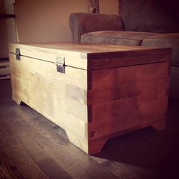 Craftsman Trunk - Handmade Modern Craftsman Trunk.