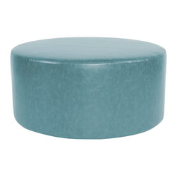 "Howard Elliott - Howard Elliott Bucktown Universal 36"" Round Cover, Turquoise - Universal 36"" round cover bucktown turquoise"