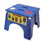 B & R Plastics - B and R Plastics 9 in. EZ Foldz Step Stool - 3391-6800 - Shop for Stepstool from Hayneedle.com! Even a compact stool can raise you up to bold new heights! The B and R Plastics 9 in. EZ Foldz Step Stool makes it easy to reach any cupboard paint the ceiling clean a fan or help your kids reach the sink to brush their teeth. It folds easily for convenient space-saving storage and features a handle for comfortable carrying. Constructed of sturdy plastic with a skid resistant surface the B and R Plastics 9 in. EZ Foldz Step Stool is highly durable and above all else: reliable. Choose from a variety of finishes including black blue green red white and yellow and match your stool to your home decor. Measures 9L x 13.5W x 11.5H inches. About B & R Plastics IncB & R Plastics Inc is a privately owned company based out of Denver Colorado. These expert mold makers have been in the trade since 1982 their skills have only improved with time. There isn't a form of molding that they haven't touched; medical injection molding ceramics automotive and more are all second nature to this crew. Their innovative designs and affordable prices have made B & R Plastics a name customers can depend on for all of their plastic needs.
