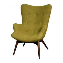 NPD (New Pacific Direct) Furniture - Sadie Armchair by NPD Furniture, Herbs - Comfort and durable, this Sadie armchair will be a great addition to your living area. This modern arm chair has ash frame with padded seat and back finish.
