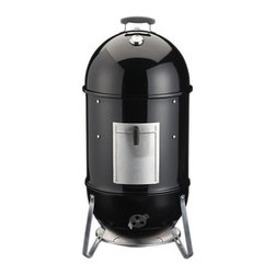 Weber Smokey Mountain Cooker Smoker - Can you say perfectly smoked, juicy, baby back ribs? Yes, I think so.