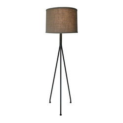 NOIR - NOIR Furniture - Tripod Floor Lamp - LAMP365 - Features: