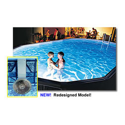 Blue Wave - Blue Wave Above-Grand Nitelighter - 50 watt nitelighter above-ground pool light enjoy extended hours of fun _ at a great price! our 50 watt nitelighter ultra pool light provides just the right amount of light after the sun goes down. Safe and easy to install without dropping your water level or tying up your return line. Includes a long-life halogen bulb, stainless steel mounting bracket, and 28 ft cord. Newly redesigned for maximum illumination! attention dealers: please note that this light no longer comes with a colored lens kit. Item also no longer has timer with auto shut-off.
