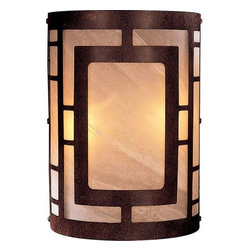 "Minka Lavery - Minka Lavery ML 346 2 Light 7.75"" Width ADA Flush Mount Wall Sconce with Etched - Two Light 7.75"" Width ADA Wall Sconce with Etched Marble ShadeFeatures:"