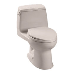 Toto - Toto MS854114#12 Sedona Beige Ultimate Toilet, 1.6 GPF - Toto MS854114#12 Sedona Beige Ultimate Elongated One-Piece Toilet. Toto is the world's largest plumbing products manufacturer, they have been designing and innovating plumbing fixtures, accessories, showers, and for over 90 years. Each collection and product that Toto makes is unique in appearance and performance. This Toto MS854114#12 Sedona Beige Ultimate Elongated One-Piece Toilet features a high gloss enamel Vitreous China constructed body designed to minimize chipping and scratching. This Toilet also includes an upgraded elongated toilet bowl, and a powerful G-Max flushing system. The Universal height and rough-in make the toilet comfortable for users and easy to install. This toilet comes in Cotton White.