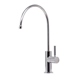 Alfi - Alfi Solid Polished Stainless Steel Drinking Water Dispenser - LEON kitchen faucets by ALFI brand are made of solid stainless steel, unlike traditional faucets which are made out of brass and treated to created different finishes. These faucets are built tough and made to last for decades, both durability and looks.