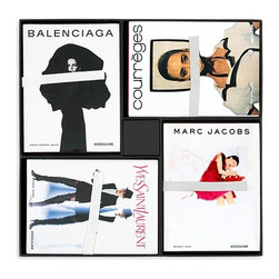 Fashion Coffee Table Book Set - If you love fashion, these books would be so fun stacked on the coffee table.