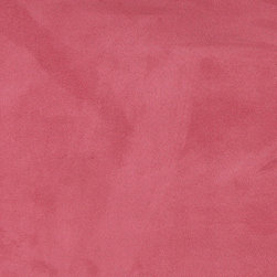 Pink Microsuede Suede Upholstery Fabric By The Yard - Our microsuede upholstery fabric will look great on any piece of furniture. This material is easy to clean and is very durable.