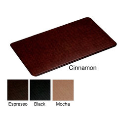 None - Nantucket Anti-fatigue Comfort Mat (2'2 x 4') - Stand longer and complete tasks more comfortably with this cushioned anti-fatigue comfort mat. Its multilayer cushioning helps protect your legs and feet from fatigue. It comes in six color options to match your kitchen,bathroom,or laundry room decor.