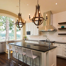 Contemporary Kitchen by Riverland Homes Inc