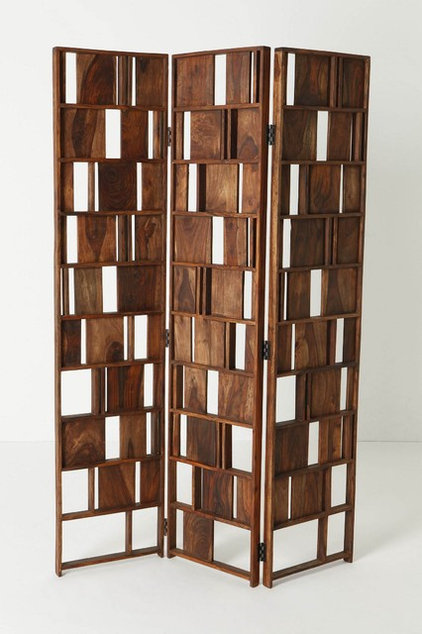 modern screens and wall dividers by Anthropologie