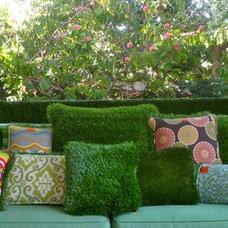 Outdoor Pillows by Alicia Blas Macdonald