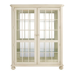 Stanley Furniture - Coastal Living Cottage Newport Glass and Mirror China Cabinet - Just as the ...