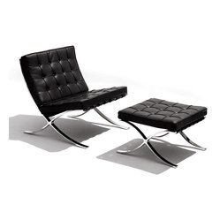 Barcelona Lounge Chair and Ottoman