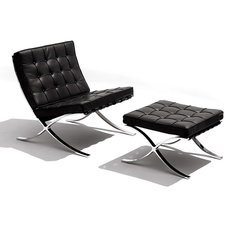 Midcentury Indoor Chaise Lounge Chairs by SmartFurniture