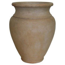 30 in. H Cast Stone Southwest Jar in Limestone Finish-PF4542LS at The Home Depot