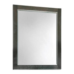 PREMIER - Premier 106725 Sonoma Mirror, 24-Inch, Espresso Finish - Complete your vanity set with a beautiful, matching wood-framed mirror. This mirror is featured in a rich espresso finish to compliment your vanity and add sophistication to your bathroom.