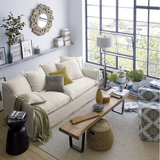 Sisal Almond Rug in All Rugs   Crate and Barrel
