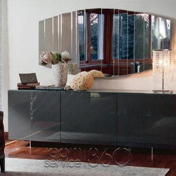 Futura Lacquered Buffet by Cattelan Italia #17138 -