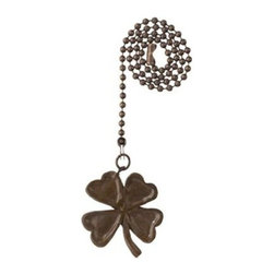 Westinghouse - Westinghouse Antique Bronze Four-Leaf Clover Pull Chain 7762600 - Shop for Lighting & Fans at The Home Depot. This Westinghouse Lighting Antique Bronze Finish Four-Leaf Clover Pull Chain has a charming, recognizable style that matches almost any decor. The medallion-like antique bronze finish handle is shaped like a four-leaf clover, and hangs on a 12 in. beaded chain. It makes an ideal replacement for broken or outdated pull chains. Westinghouse Lighting is a global brand with a simple philosophy: make life easier for everyone who buys its products. The company offers ceiling fans, lighting fixtures, lighting hardware, ceiling fan accessories, and light bulbs for both consumer and commercial applications. Westinghouse Lighting products are designed for exceptional quality, reliability, and functionality.