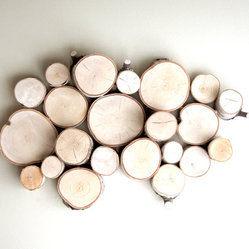 White Birch Wall Art by Urban+Forest