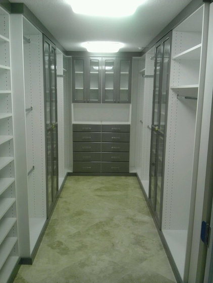 Contemporary Closet by Artisan Closets and Trim Inc