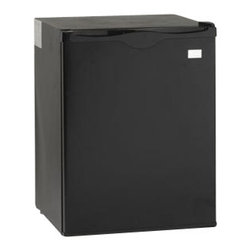 Avanti - 2.2 Cubic-Foot Compact Refrigerator - 2.2 CF Compact Refrigerator, Highly Energy efficient & Green product. Auto Defrost. Reversible Door - left or right swing, 10 ft. Wall-hugger cord. Rear Mounted Full Range Temperature Control.