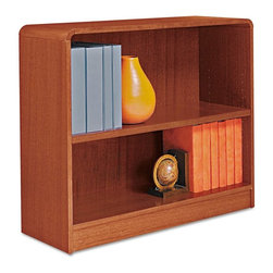 Alera - Alera BCR23036MC Aleradius Corner Wood Veneer Bookcase - Medium Cherry Multicolo - Shop for Bookcases from Hayneedle.com! About AleraWith the goal of meeting the needs of all offices -- big or small casual or serious -- Alera offers an excellent line of furnishings that you'll love to see Monday through Friday. Alera is committed to quality innovative design precision styling and premium ergonomics ensuring consistent satisfaction.