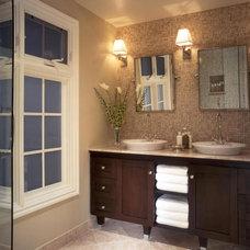 Transitional Bathrooms from Christopher J. Grubb : Designers' Portfolio 1440 : H