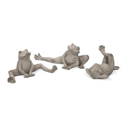 IMAX CORPORATION - Telford Garden Frogs - Telford Garden Frogs. Find home furnishings, decor, and accessories from Posh Urban Furnishings. Beautiful, stylish furniture and decor that will brighten your home instantly. Shop modern, traditional, vintage, and world designs.