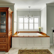 Traditional Vanity Tops And Side Splashes by The Grothouse Lumber Company