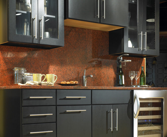 Contemporary Kitchen by Yorktowne Cabinetry