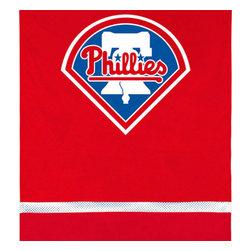 Sports Coverage - MLB Philadelphia Phillies Team Logo Baseball Wall Hanging - Features: