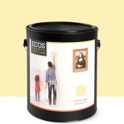 Imperial Paints - Eggshell Wall Paint, Gallon Can, Banana Cream - Overview: