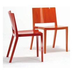 Kartell - Kartell | Lizz Chair, Set of 2 - Design by Piero Lissoni, 2007.
