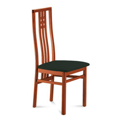 Domitalia - Scala Dining Chair, Toulouse Black (Set of 2) - -Chair