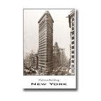 "PosterEnvy - Flatiron Building - New York City- Vintage Photo Art Print Poster - 12"" x 18"" heavy, durable 80lb satin paper - Flatiron Building - New York City - Vintage Photo Art Print Poster"