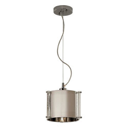 Trend Lighting - Trend Lighting TP8016 Zoom 1 Light Pendants in Polished Stainless Steel - This 1 light Pendant from the Zoom collection by Trend Lighting will enhance your home with a perfect mix of form and function. The features include a Polished Stainless Steel finish applied by experts. This item qualifies for free shipping!