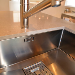 Dornbracht Mixer tap bulthaup b3 kitchen - Bath Showroom - Graham Craig