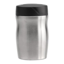 BergHOFF 500 ml Food Container - The BergHOFF 500ml Food Container makes sure your food stays warm, especially when you're on the go. With double wall insulation, it keeps the food inside hot or cold, as you would desire, for a longer period of time. As it has a leak-proof lid, this it's perfect for carrying around. This durable and sturdy container's made of aluminum. It's easy-to-maintain and needs to be simply hand-wiped with a damp cloth.