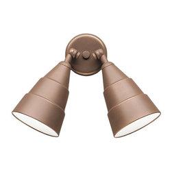 "Kichler - Kichler 6052AZ 2 Light 11"" Outdoor Wall Light - Product Features:"