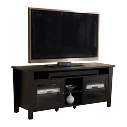 """Jesper - Jesper - 900 Collection - Modern Tv Cabinet 70"""" W/ Soundbar Shelf - Espresso - Jesper Office specializes in making modular office furniture for the home and small business, along with a complementary line of modular library and home entertainment furniture. The company, originally based in Denmark, has been designing and manufacturing high quality furniture since 1935. Today, Jesper Office is based in Branchburg, New Jersey where it maintains a U.S warehouse and sales office along with several manufacturing facilities overseas."""