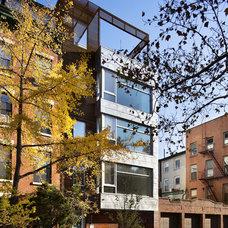 Contemporary Exterior by Sarah Jefferys Design