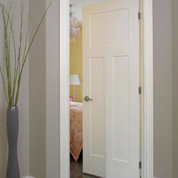"Craftsman Molded Interior Doors - Respecting tradition, embracing innovation - Lynden Door Craftsman in hollow core, solid core or optional 20-minute fire rated models (1-3/4"" thick)."