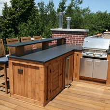 Traditional Patio by Chicago Roof Deck & Garden