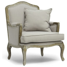 Traditional Accent Chairs by Baxton Studio