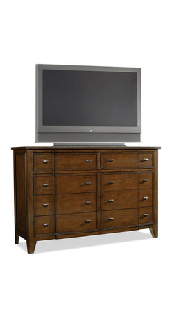 Hooker - Hooker Furniture Lorimer Eight Drawer Media Chest - Hooker Furniture Lorimer Eight Drawer Media Chest