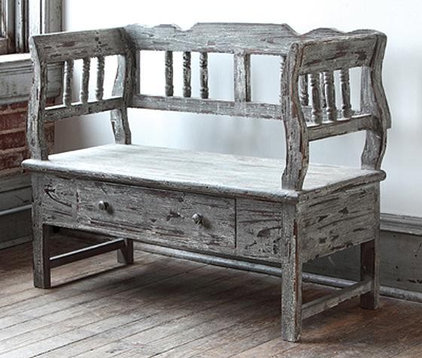 Eclectic Indoor Benches by Home Decorators Collection