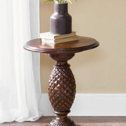 Liberty Furniture - Chair Side Pineapple Accent Table -